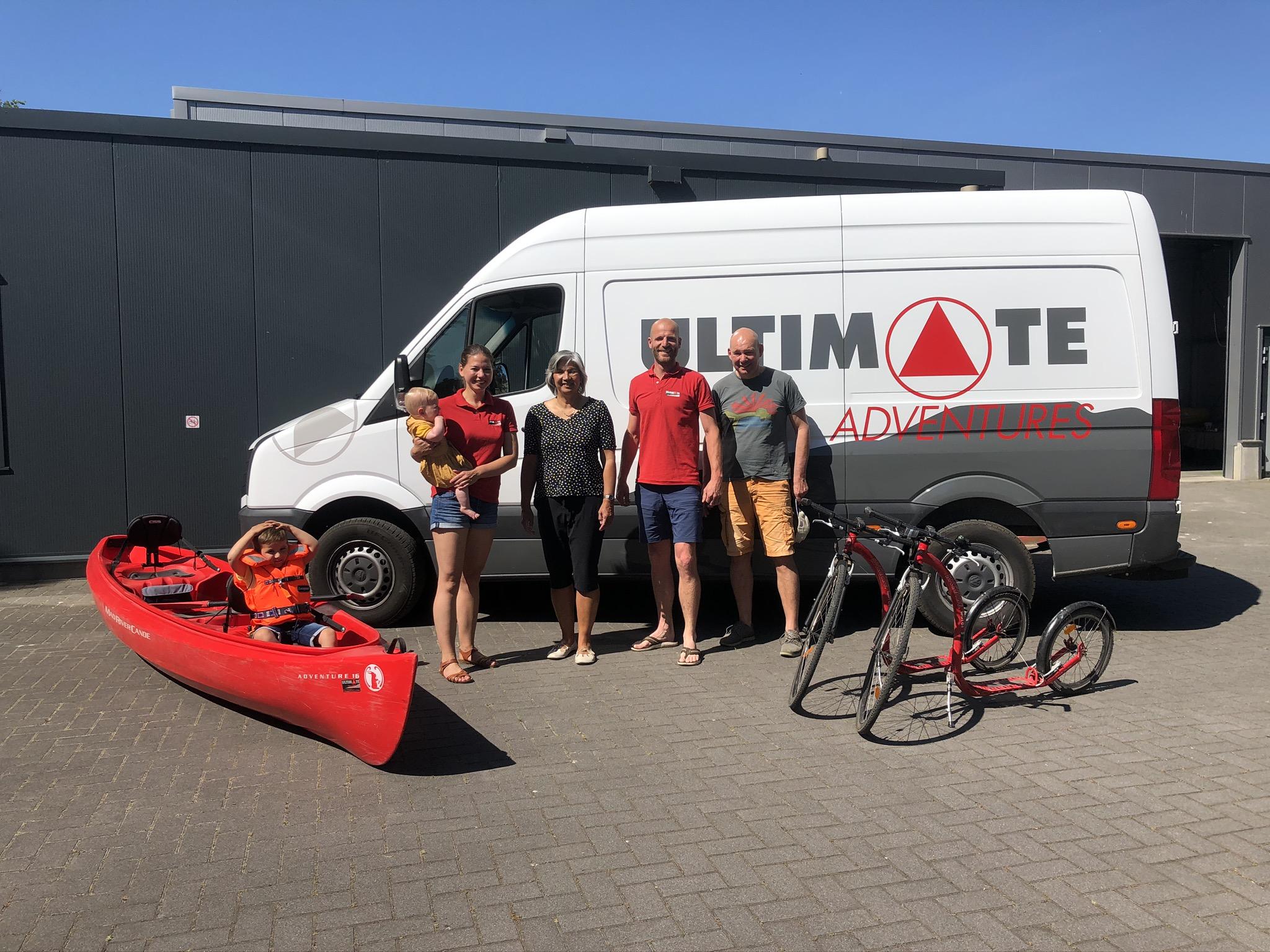 Team Ultimate Adventures Nederland. Persoonlijk en betrokken.